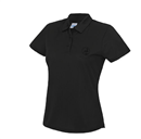 HJGK Dame performance polo Logo In-tone