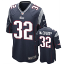 New England Patriots - D. McCourty #32 Home Jersey