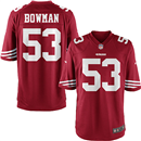 San Francisco 49érs - N. Bowman #53 Home Jersey
