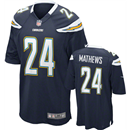 San Diego Chargers - R. Mathews #24 Home Jersey