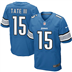 Detroit Lions - G. Tate #15 Home Jersey